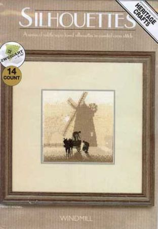 Windmill Counted Cross Stitch Kit